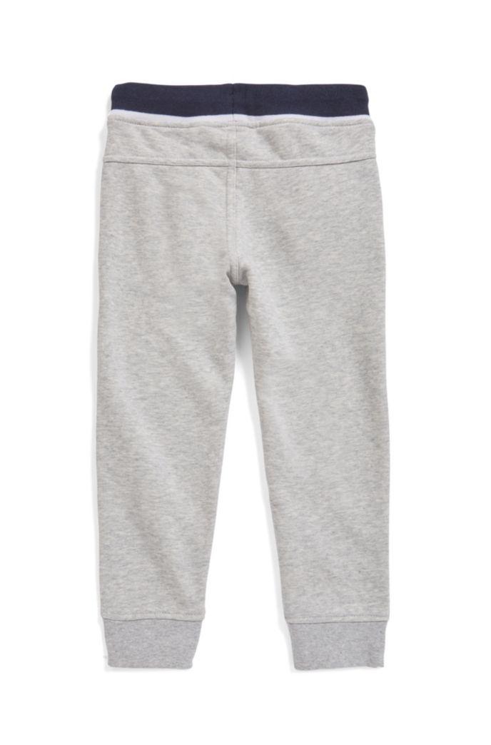 Kids-Jogginghose aus French Terry mit Logo-Print