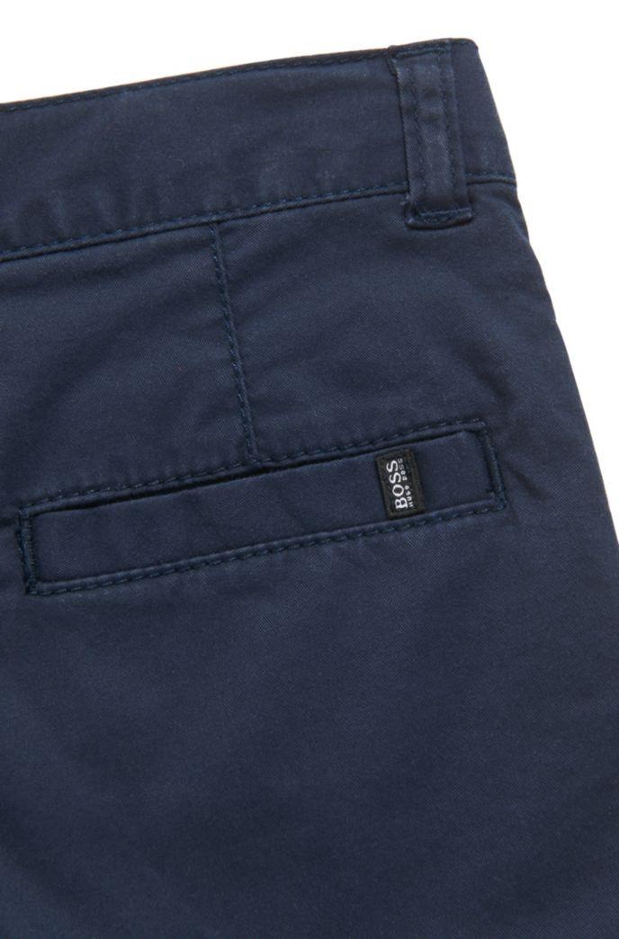 Kids Slim-Fit Hose aus elastischem Baumwoll-Twill