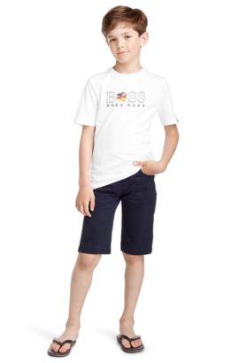 Kids-T-Shirt ´J25670` aus Baumwolle, Gemustert