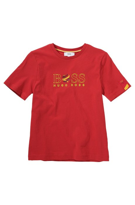 Kids' cotton t-shirt 'J25670', Patterned
