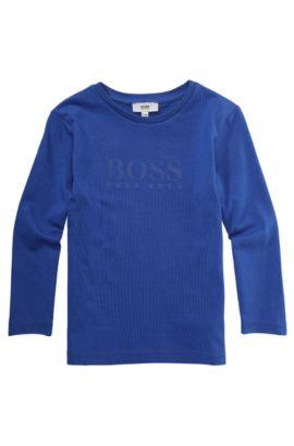Kids-Longsleeve ´J25706` aus Baumwolle, Blau