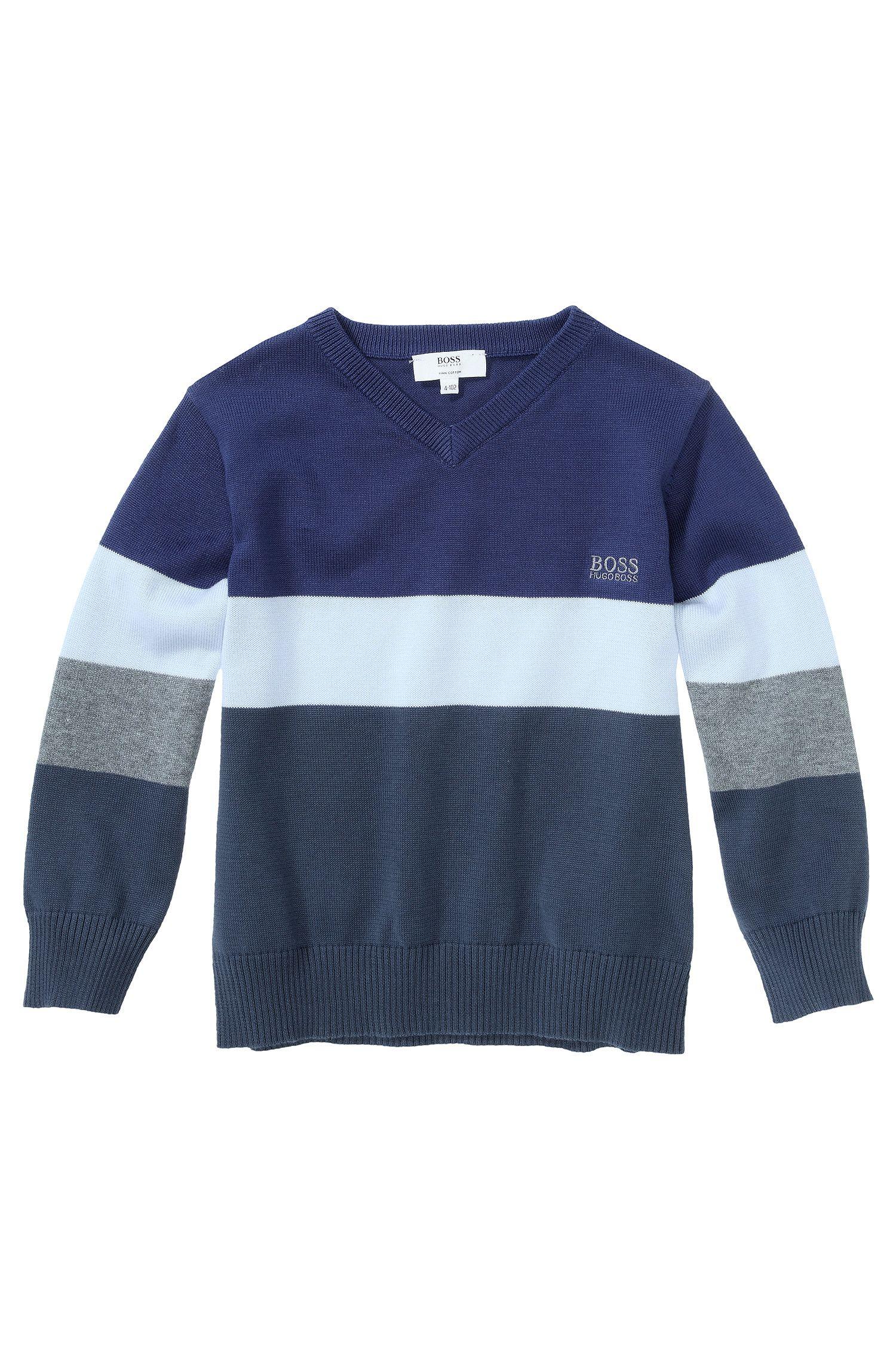 Kids-Pullover ´J25714` aus Baumwolle