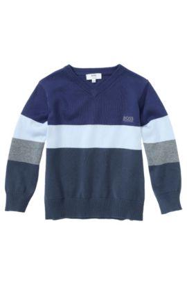 Kids-Pullover ´J25714` aus Baumwolle, Gemustert