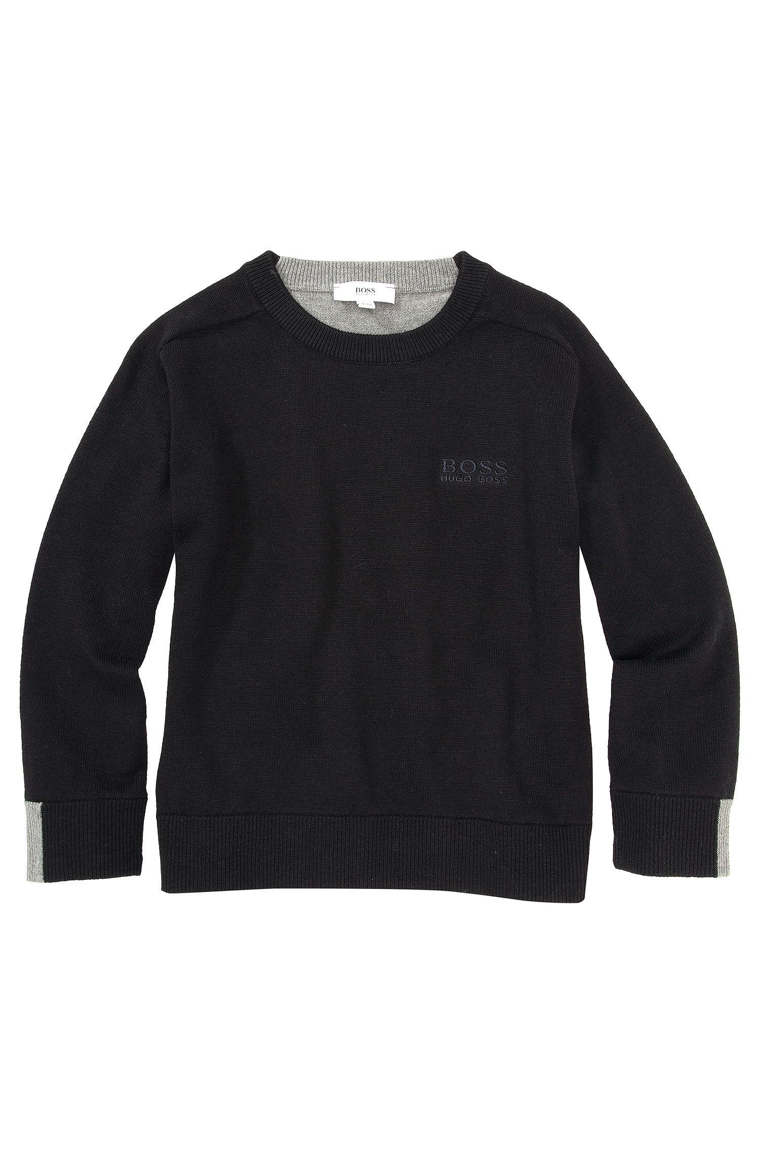 Kids-Pullover ´J25715` aus Baumwoll-Mix