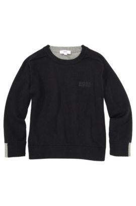 Kids-Pullover ´J25715` aus Baumwoll-Mix, Gemustert