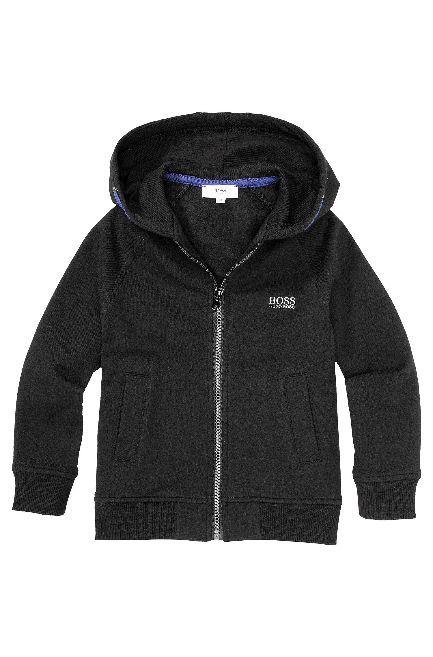 Kids-Sweatshirt-Jacke ´J25717` aus Baumwoll-Mix