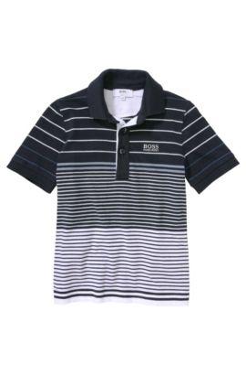 Polo pour enfant «J25724» en coton, Bleu foncé