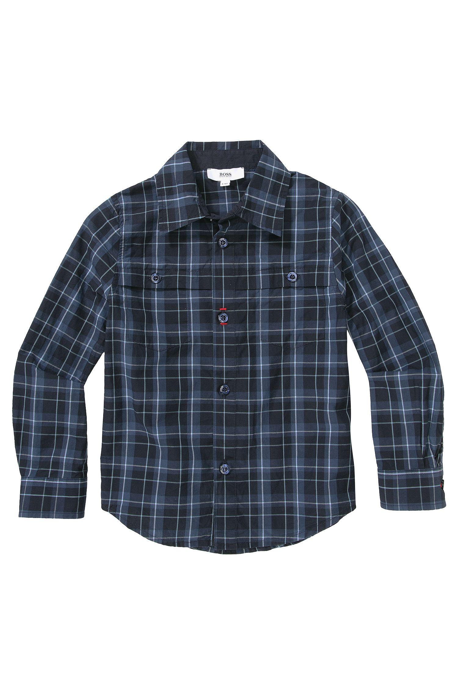 Chemise pour enfant «J25729» en coton