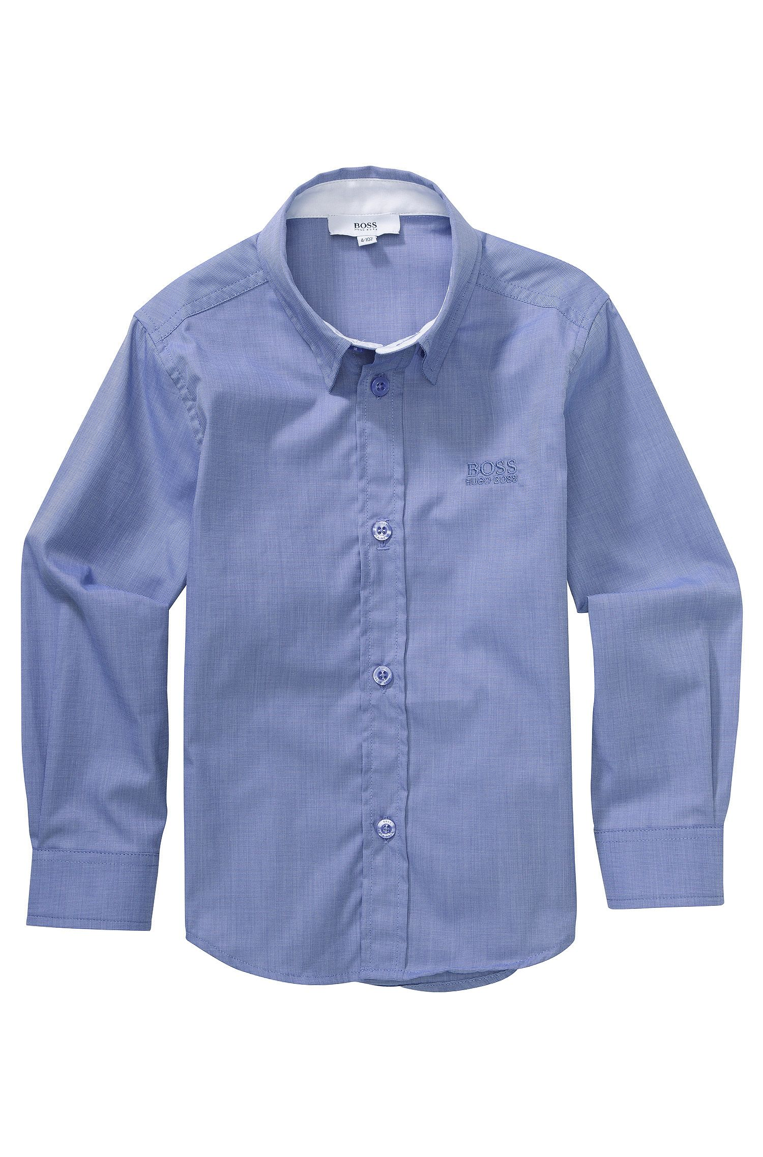 Chemise pour enfant «J25767» en coton