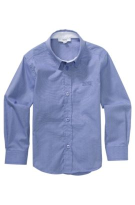 Chemise pour enfant «J25767» en coton, Violet clair