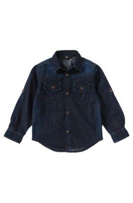 Chemise en jean pour enfant «J25780» en coton, Fantaisie