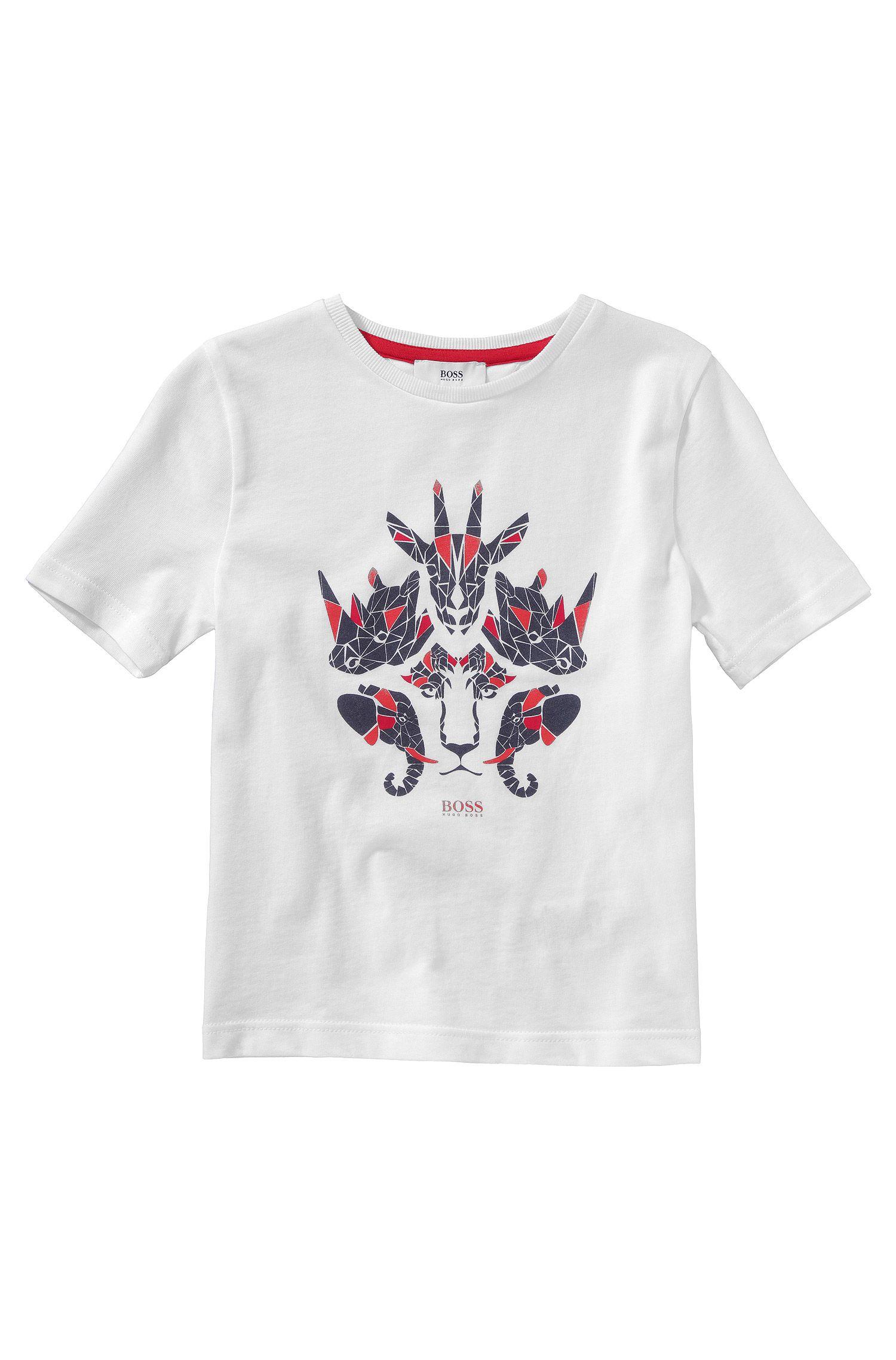 Kinder-T-shirt 'J25784' van katoen