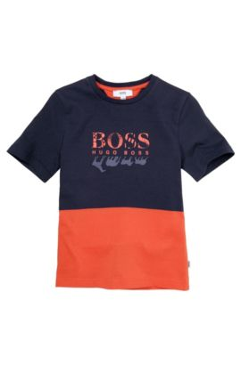T-shirt pour enfant « J25785 » en coton, Orange