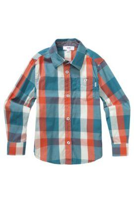 Kinderoverhemd 'J25788' van katoen, Bedrukt