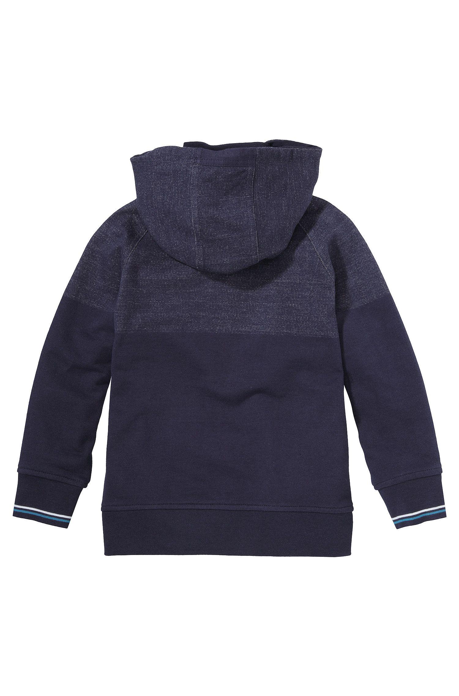 Kids-Kapuzen-Sweatshirt-Jacke ´J25789` aus Baumwolle