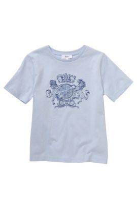 Kids-T-Shirt ´J25805` aus Baumwolle, Hellblau