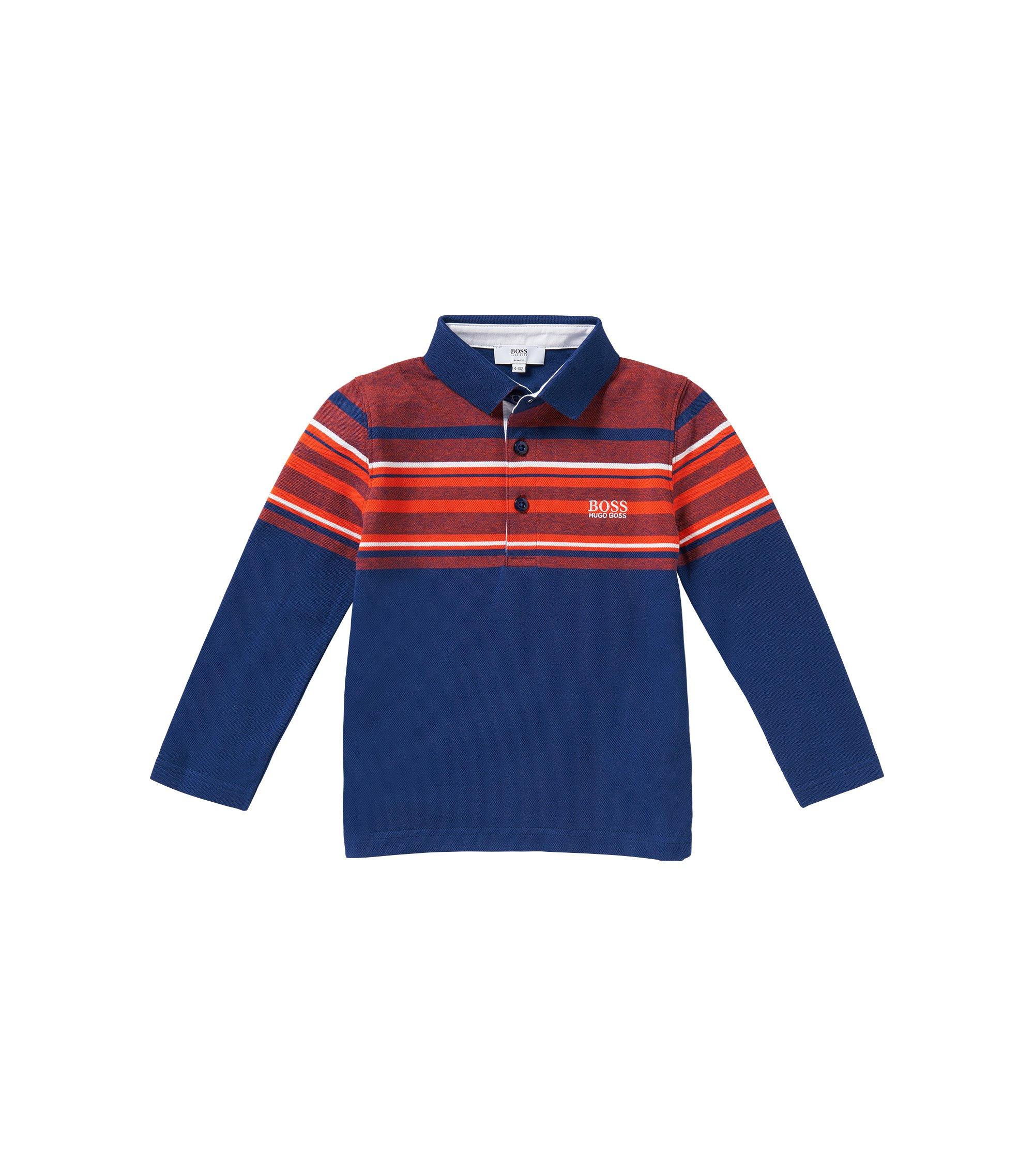 Kids-Polo aus Baumwolle: 'J25857', Dunkelblau