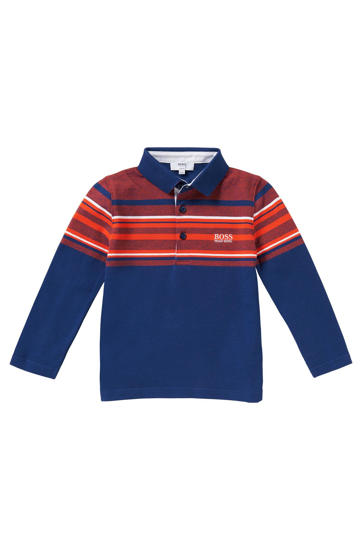 Kids-Polo aus Baumwolle: 'J25857'