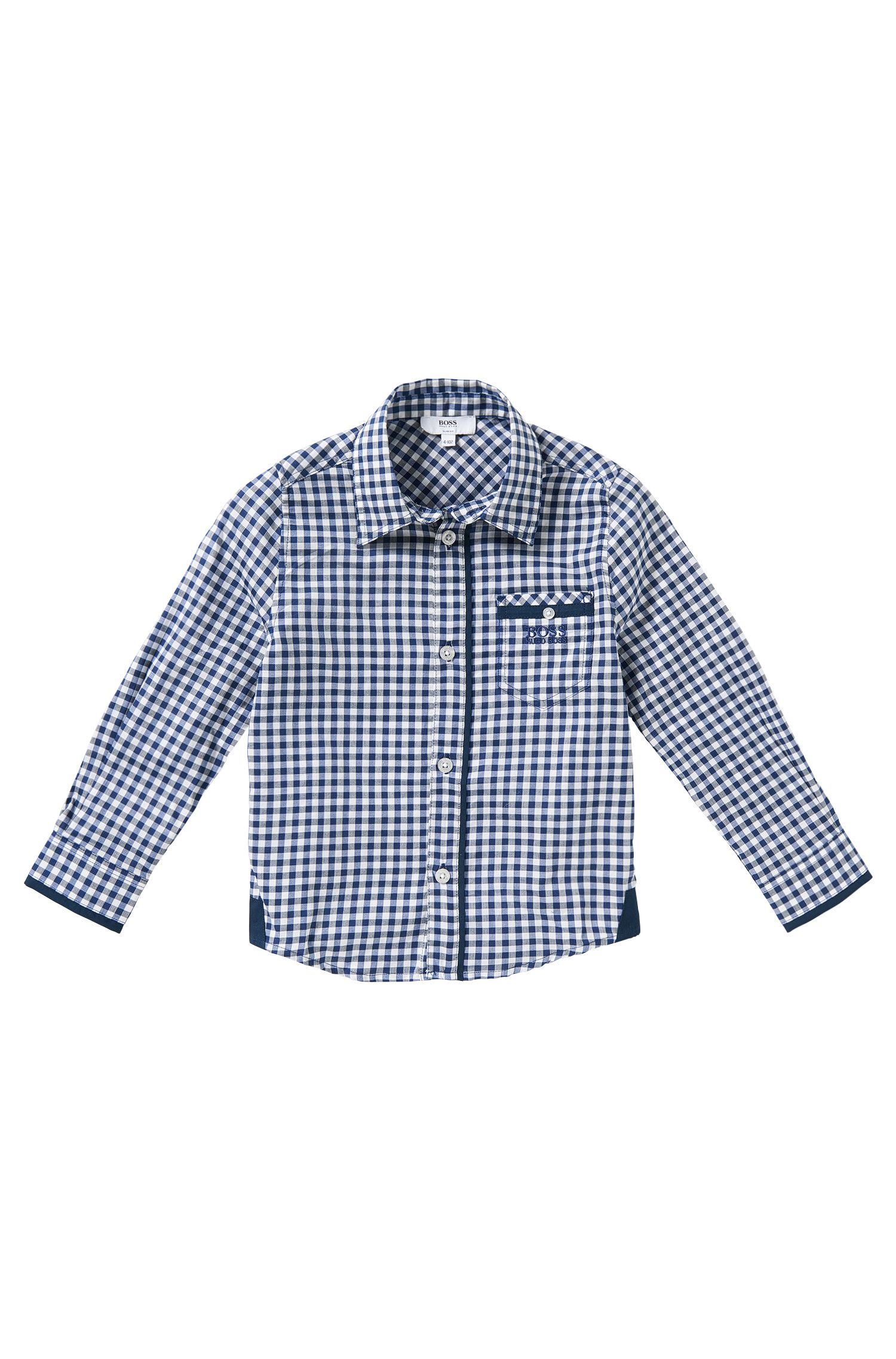Kinderoverhemd van katoen: 'J25869'