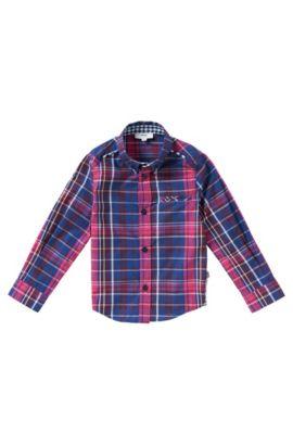 Chemise pour enfant en coton: «J25871», Rose