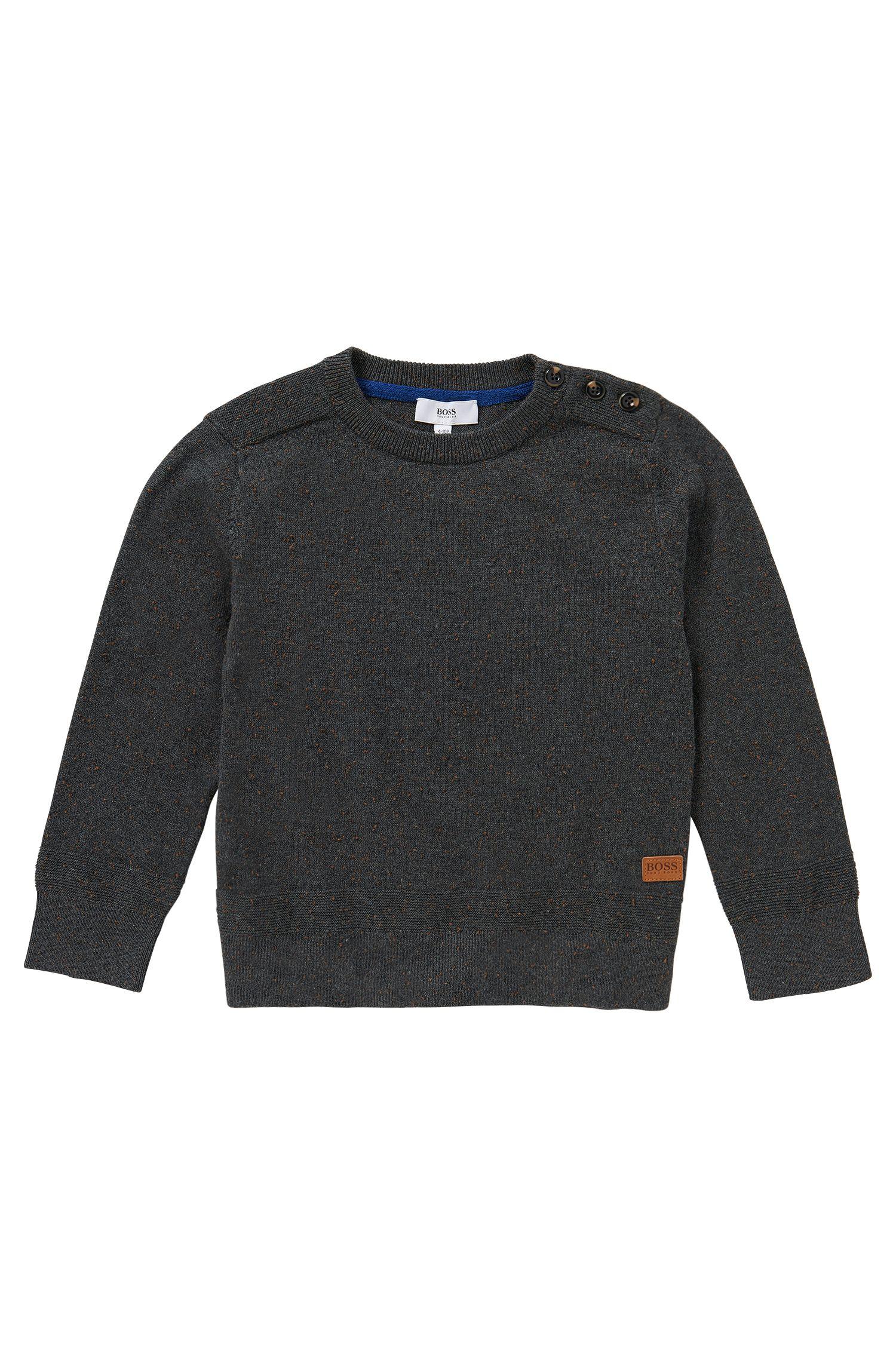 Pullover aus Baumwoll-Mix mit Kaschmiranteil: 'J25875'