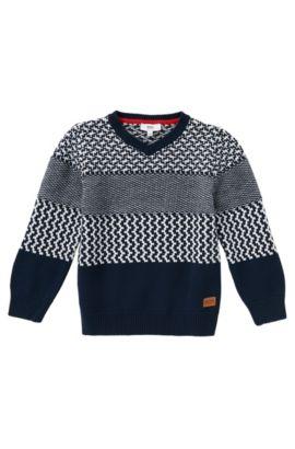 Pullover aus Baumwolle: 'J25887', Dunkelblau