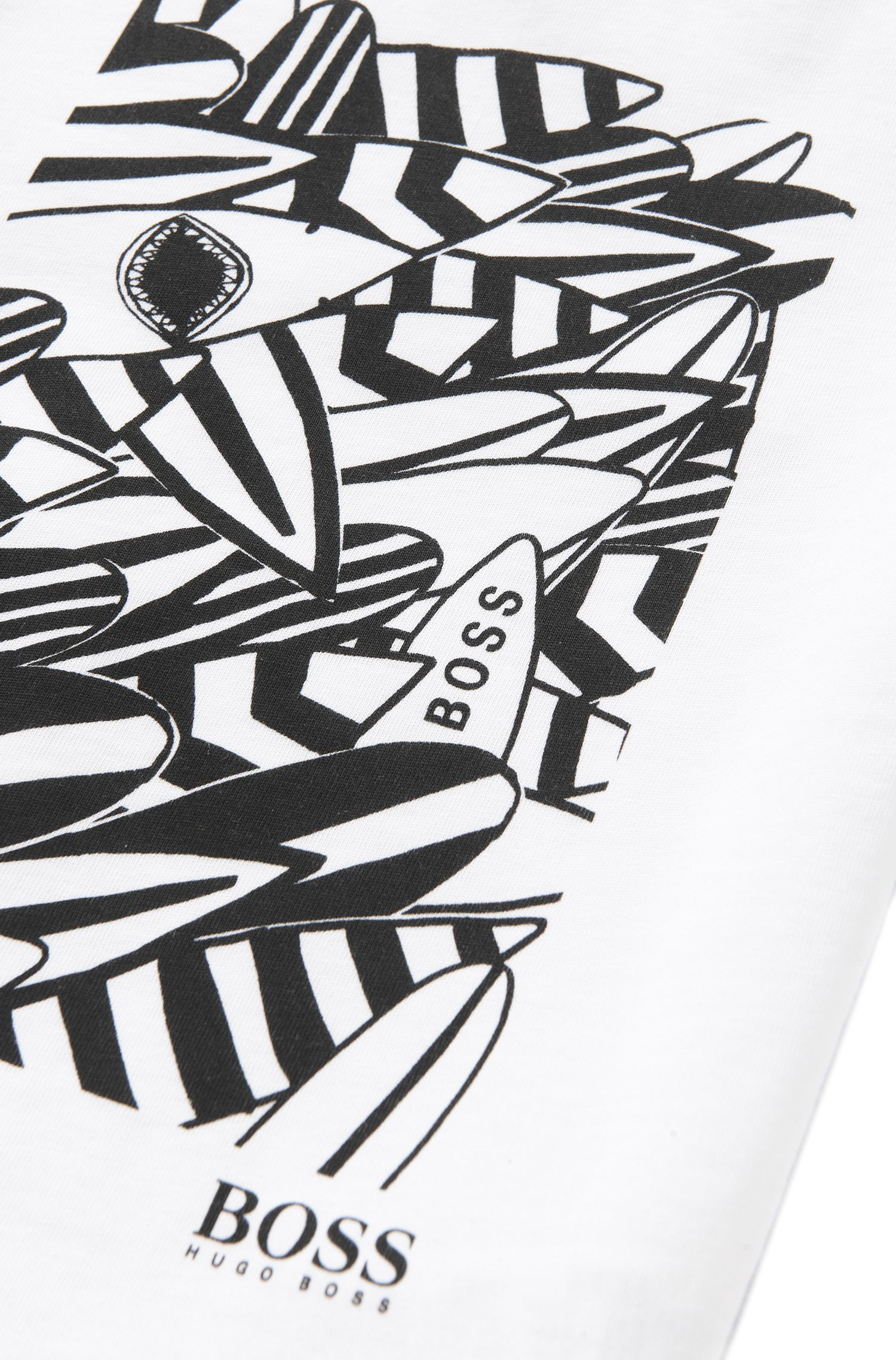 Bedrucktes Kids-T-Shirt aus Baumwolle: 'J25939'