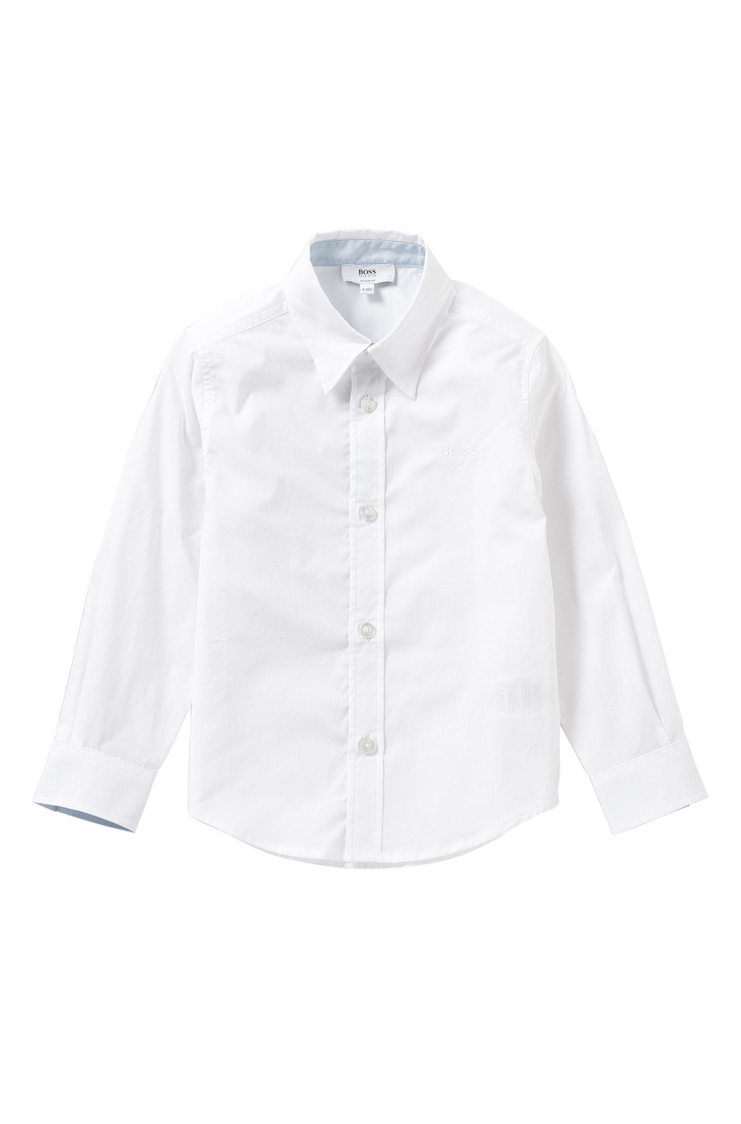Chemise Regular Fit pour enfant en coton: «J25945»