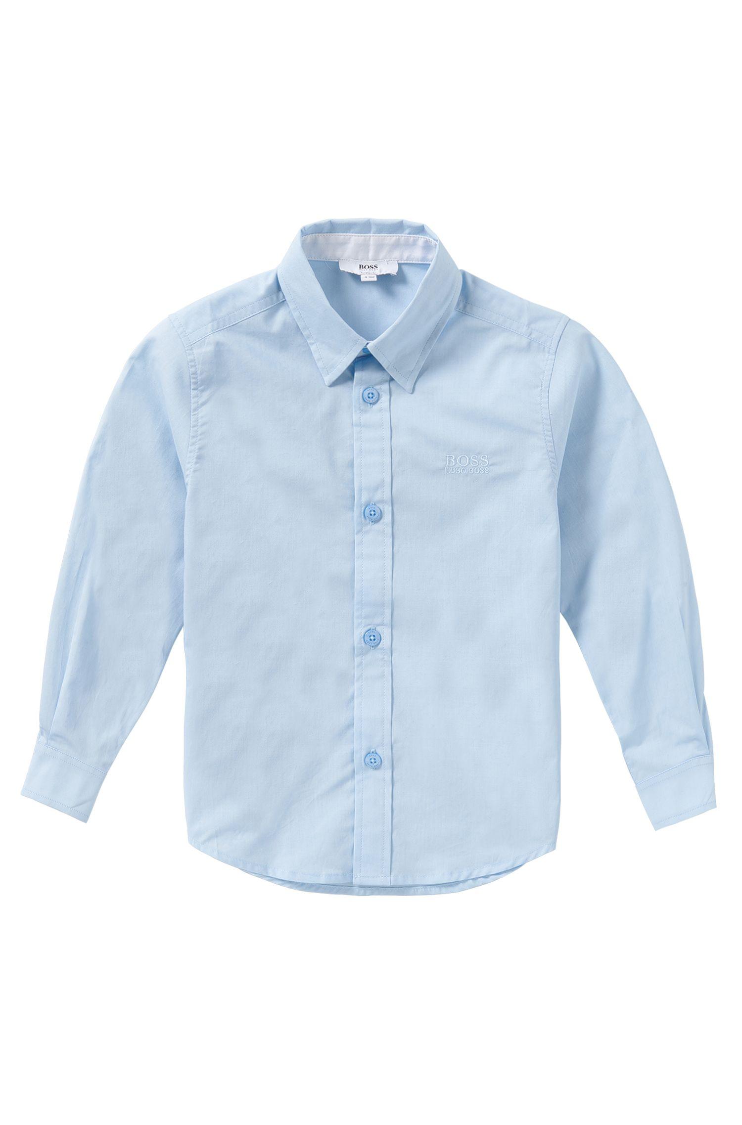 Regular-fit kids' shirt in cotton: 'J25945'