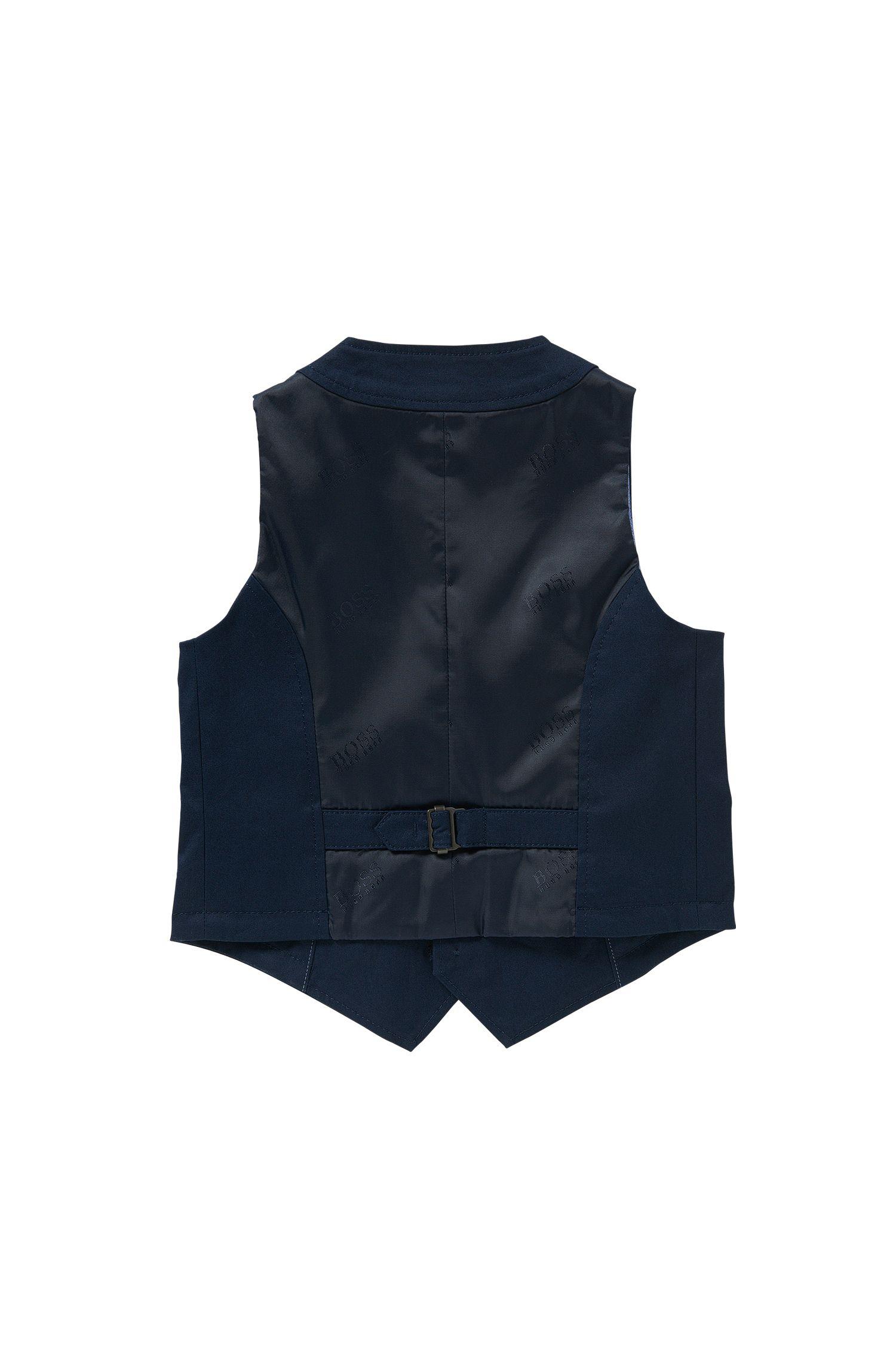 Kids' waistcoat in stretch cotton: 'J25953'
