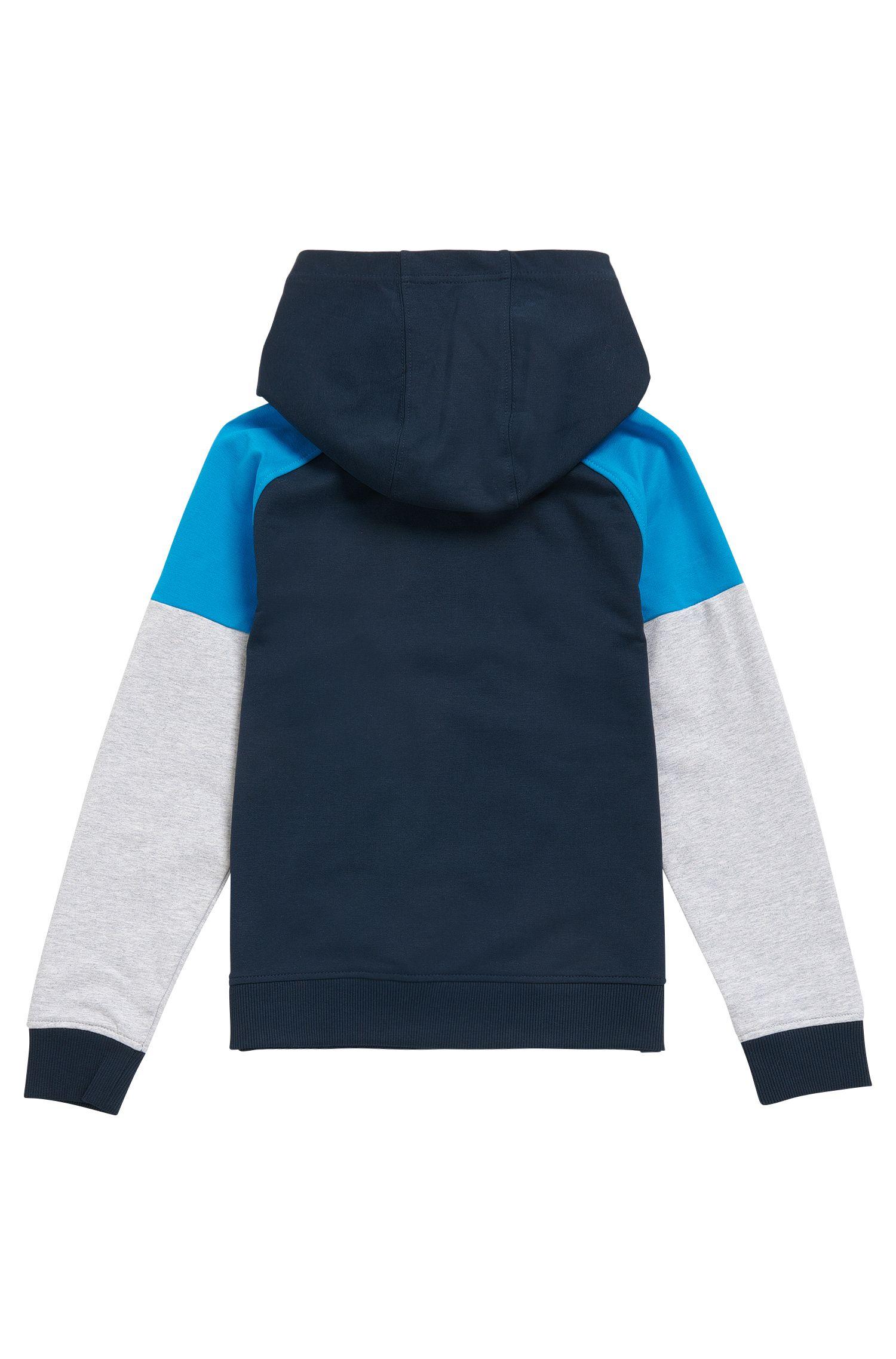 Felpa da bambino con cappuccio in cotone elasticizzato: 'J25961'
