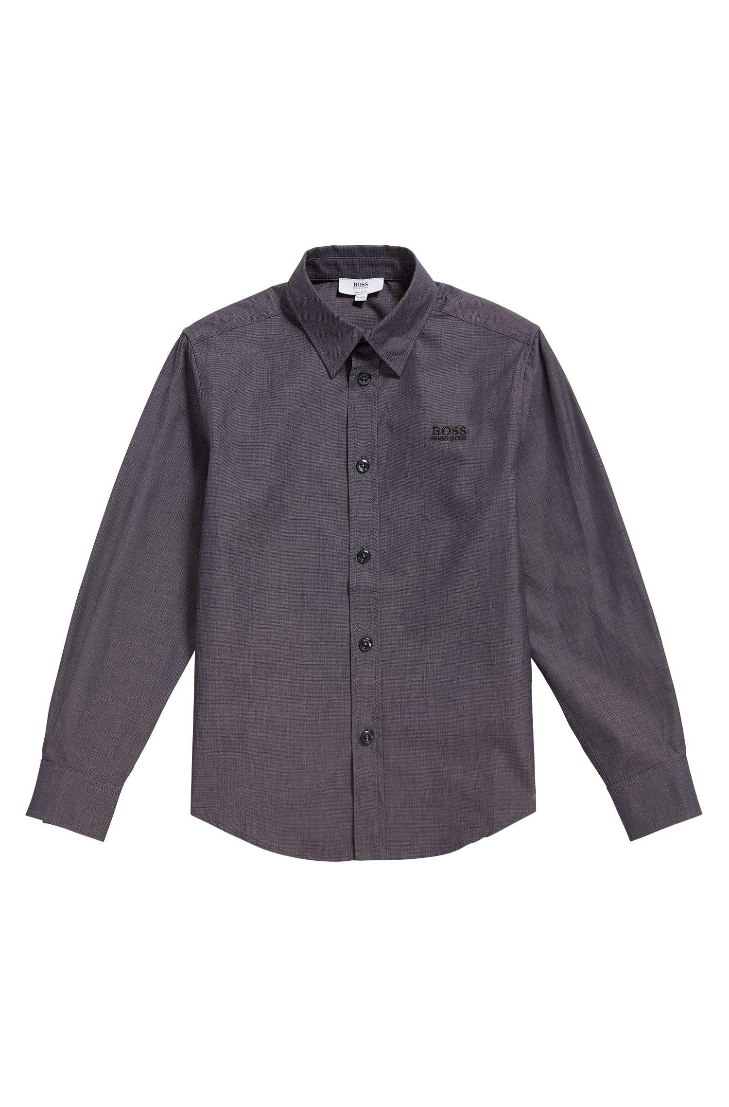 Camisa para niño en algodón con textura fina: 'J25977'
