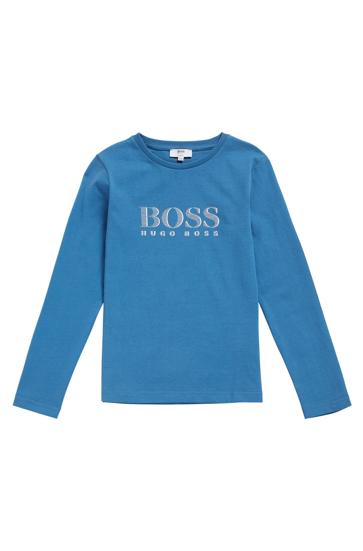 Kids' long-sleeved printed shirt in cotton: 'J25986'