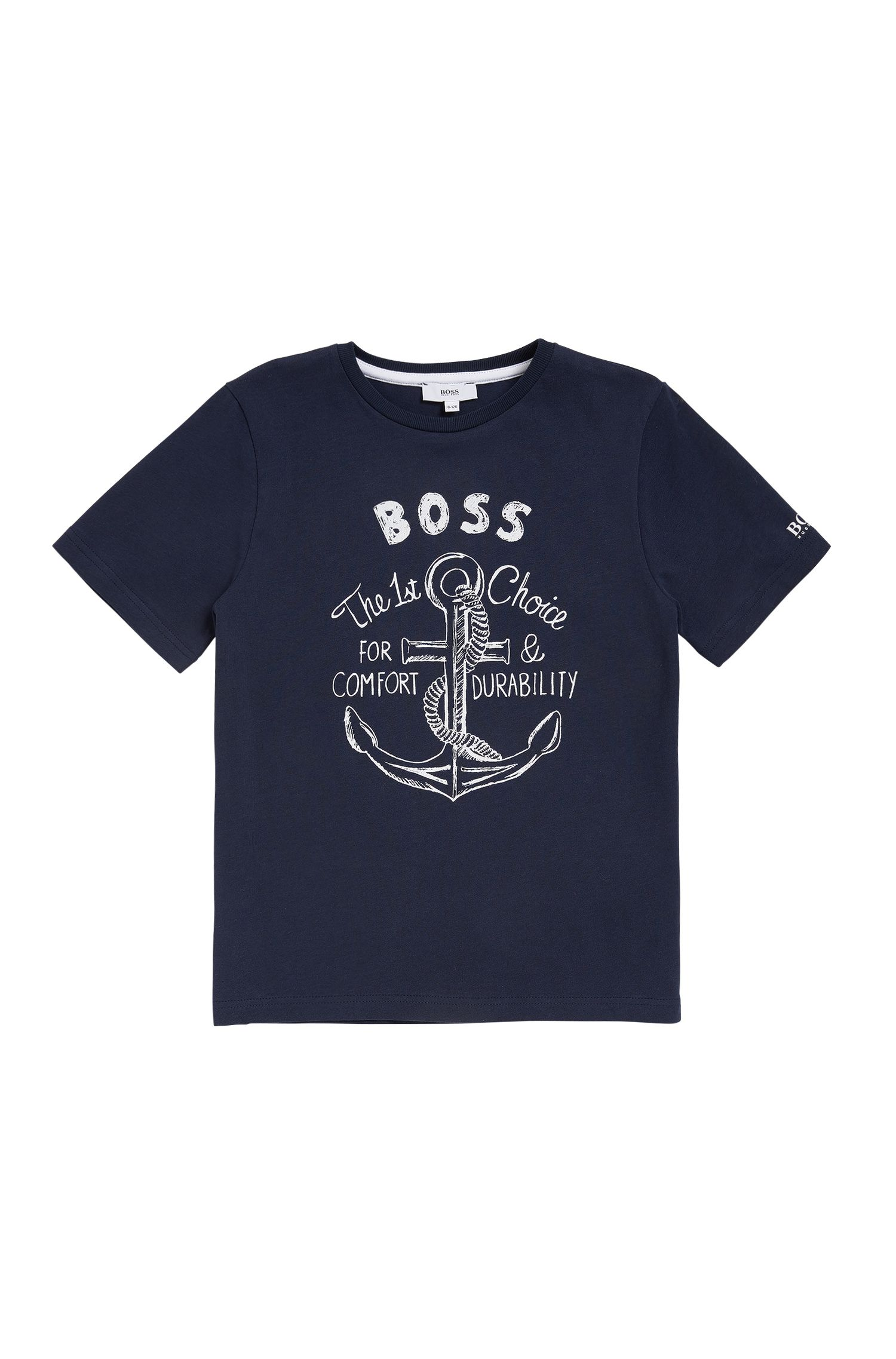 T-shirt Regular Fit pour enfant en jersey simple