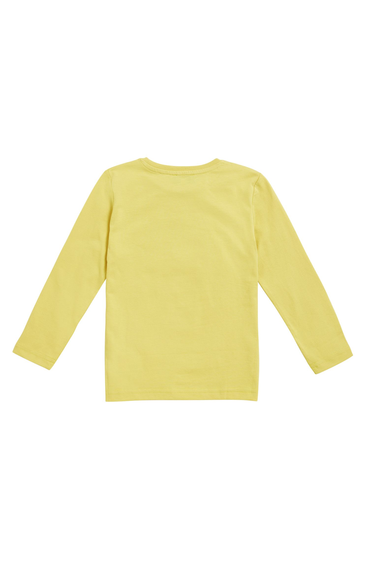 T-shirt regular fit da bambino in jersey di cotone con stampa