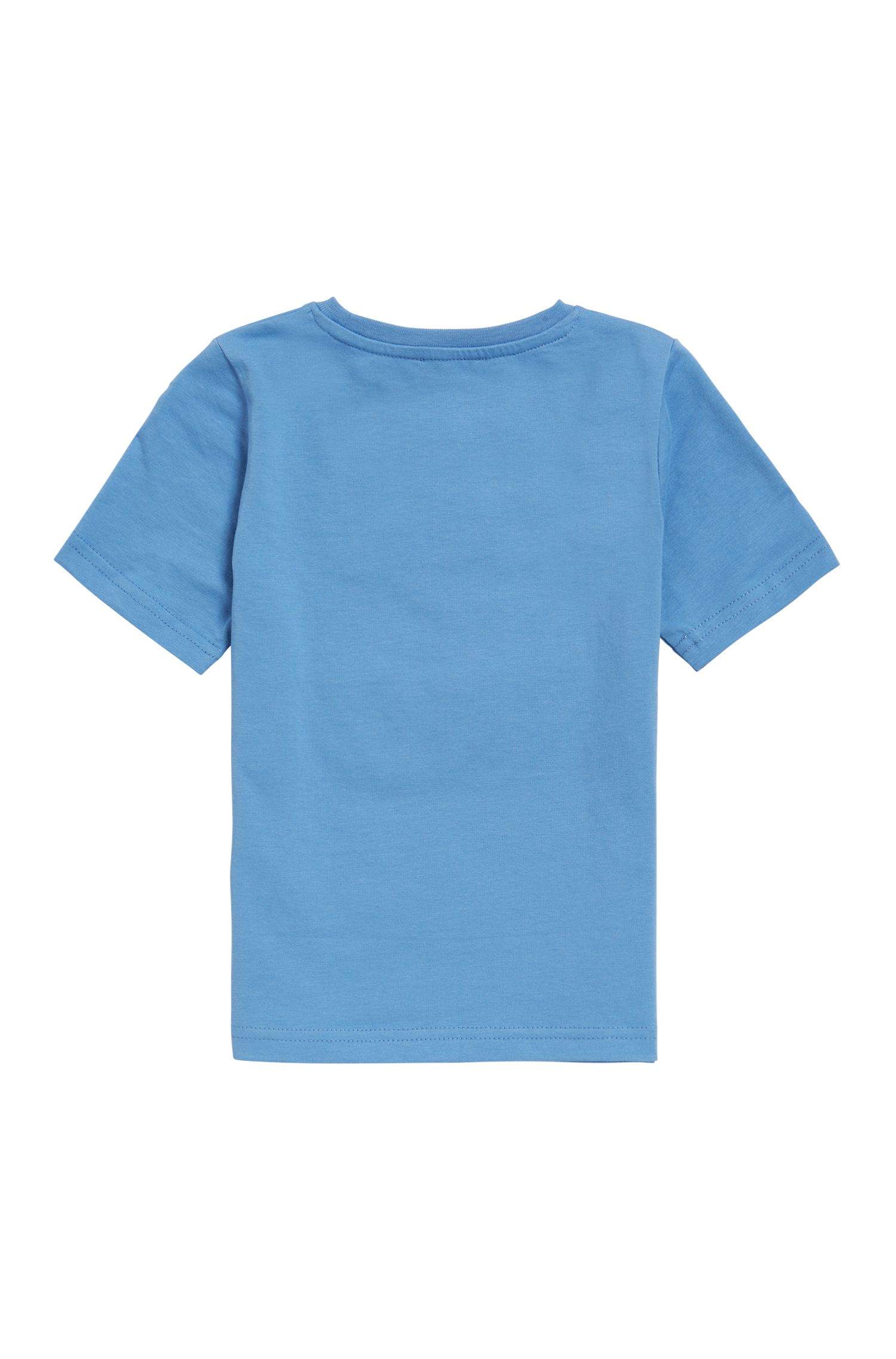 T-shirt enfant à logo en jersey de coton simple