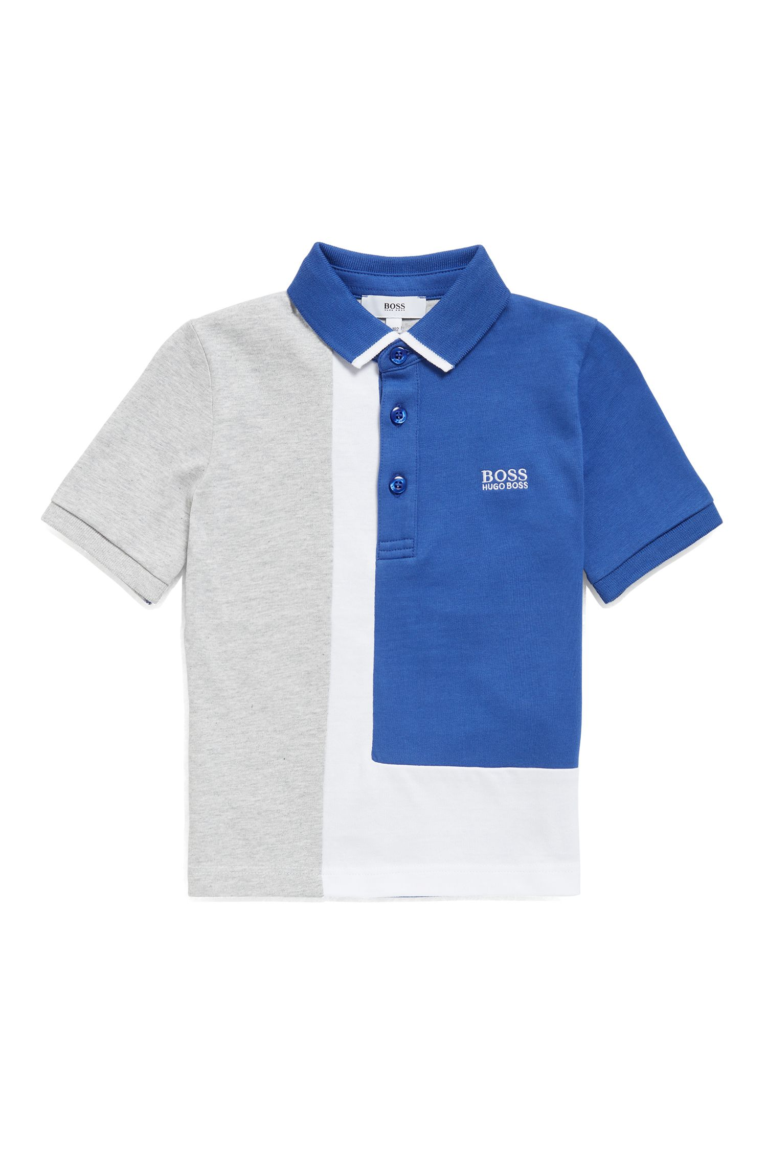 Polo pour enfant en jersey simple de coton