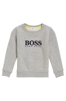 HUGO BOSS Sweat logo pour enfant en molleton French Terry 1ZcLX83