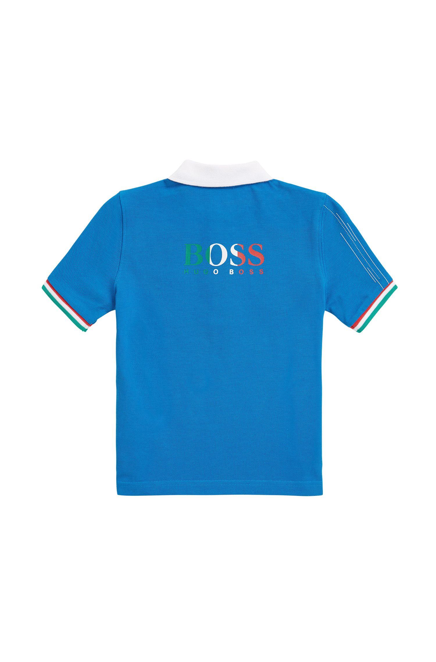 Kids-Poloshirt aus Baumwoll-Piqué aus der Special Edition