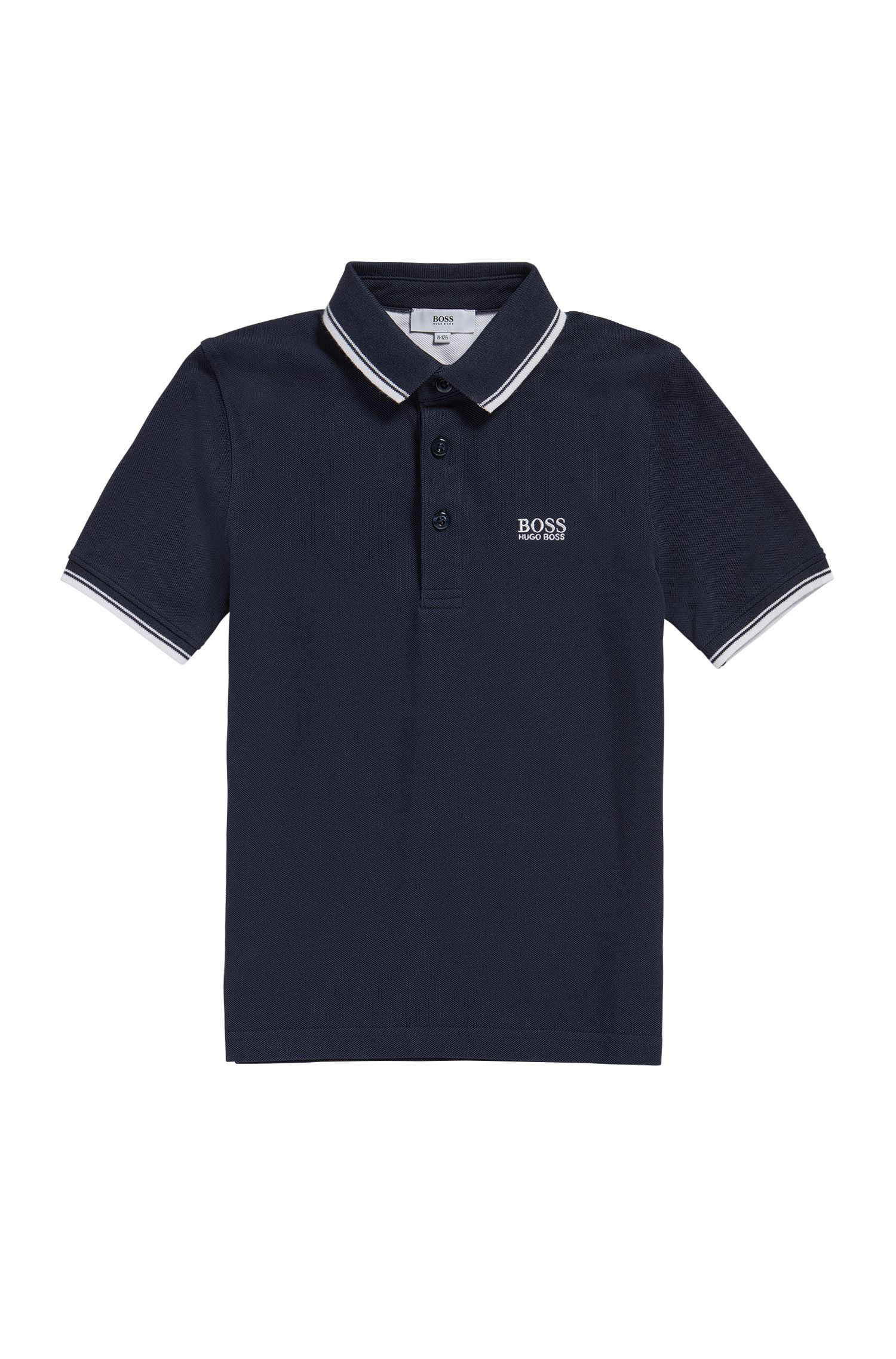 Polo Regular Fit pour enfant en coton
