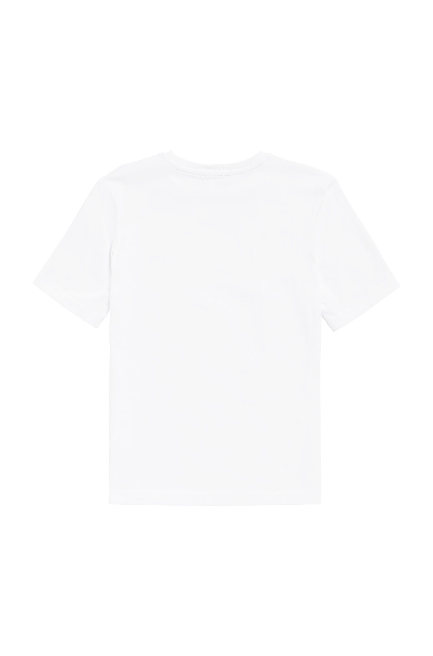 T-shirt Regular Fit pour enfant en coton, Blanc