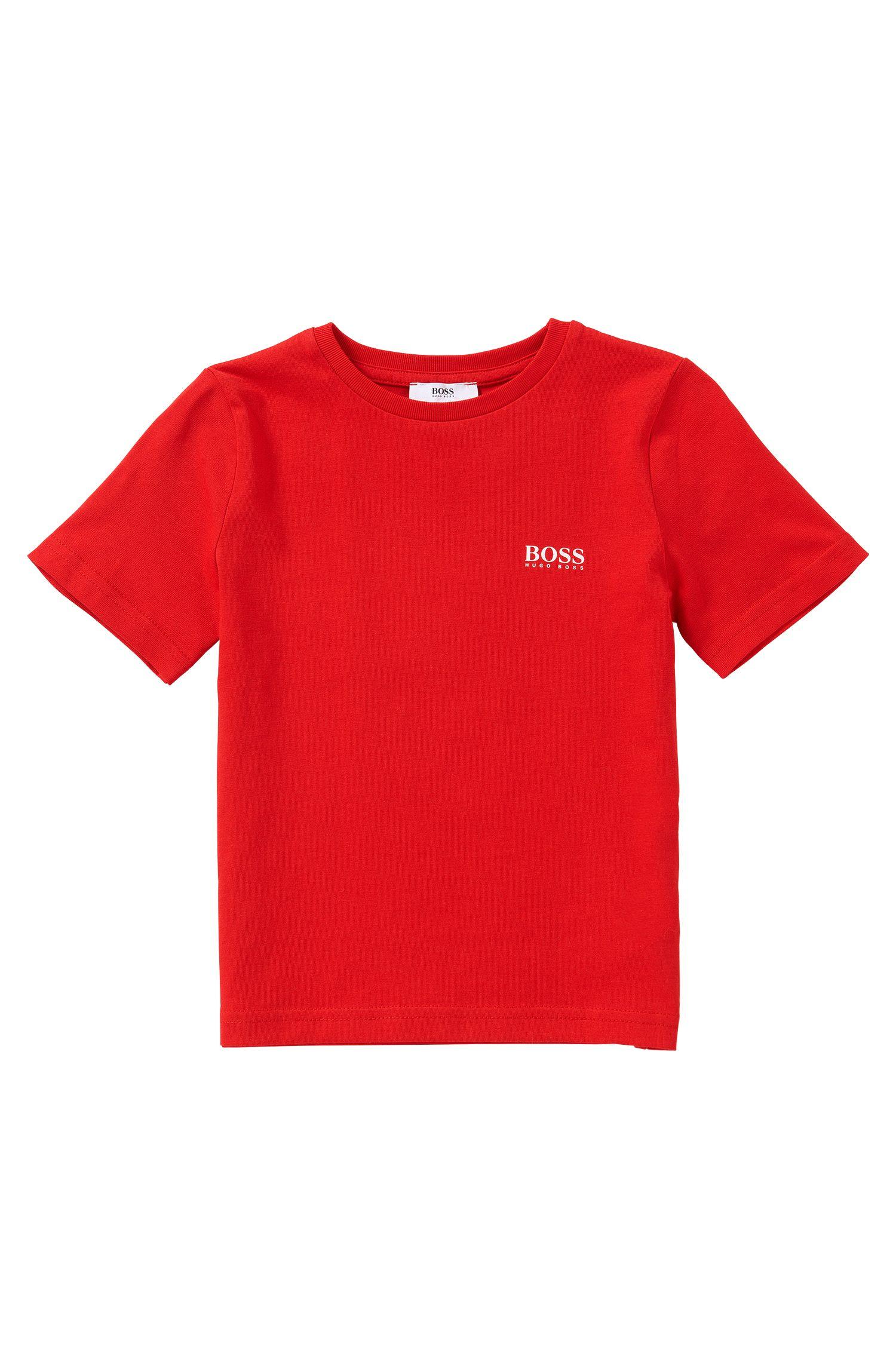 Regular-Fit Kids-T-Shirt aus Baumwolle: 'J25U00'