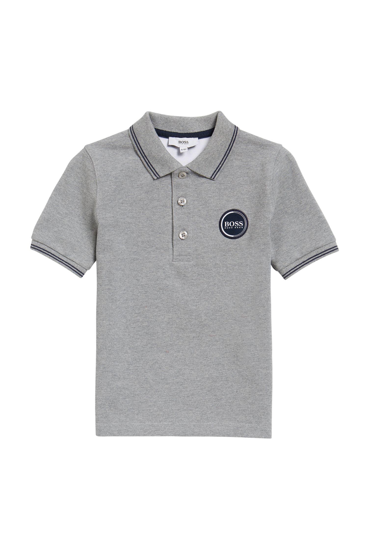 Kids-Poloshirt aus Baumwoll-Piqué
