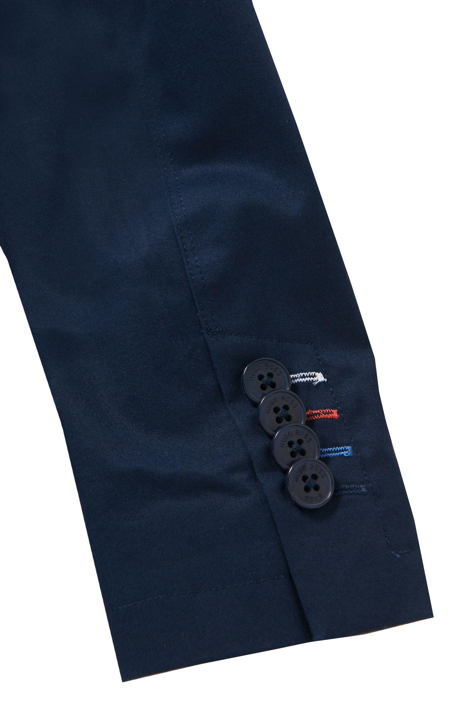 Kindercolbert van stretchkatoen met geïntegreerd pochet: 'J26275'