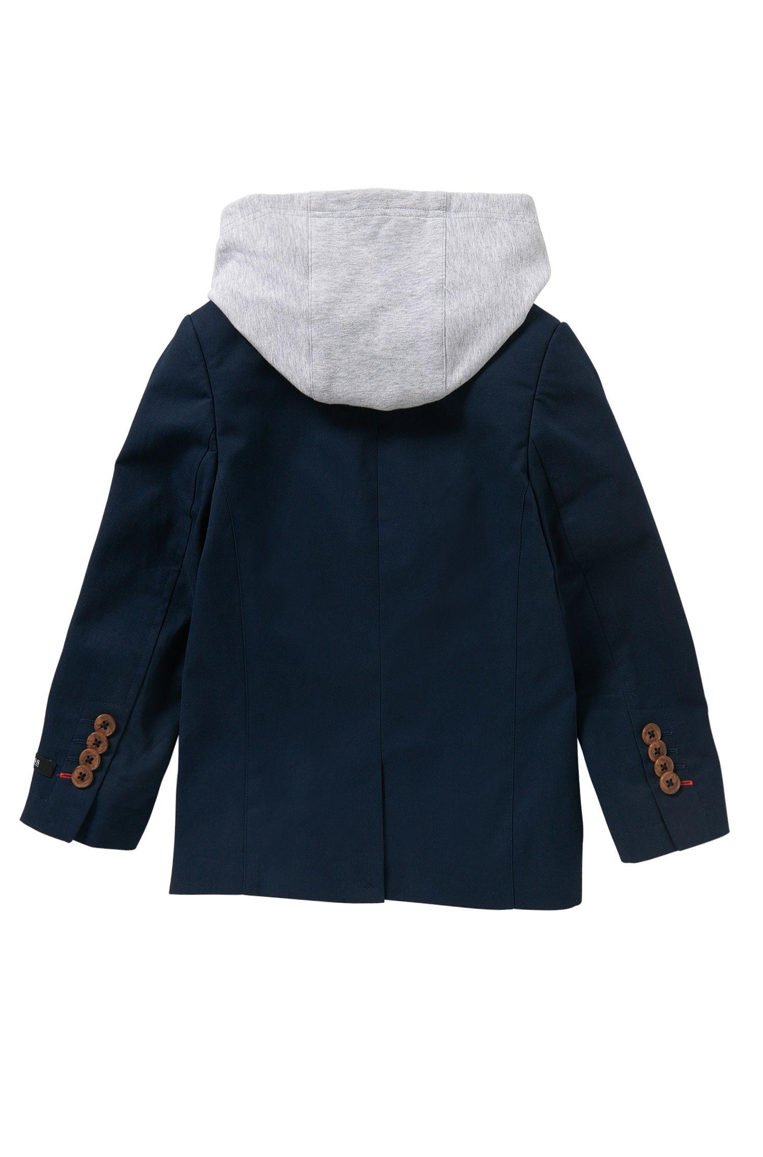 Americana para niños en algodón con aplique extraíble: 'J26276'