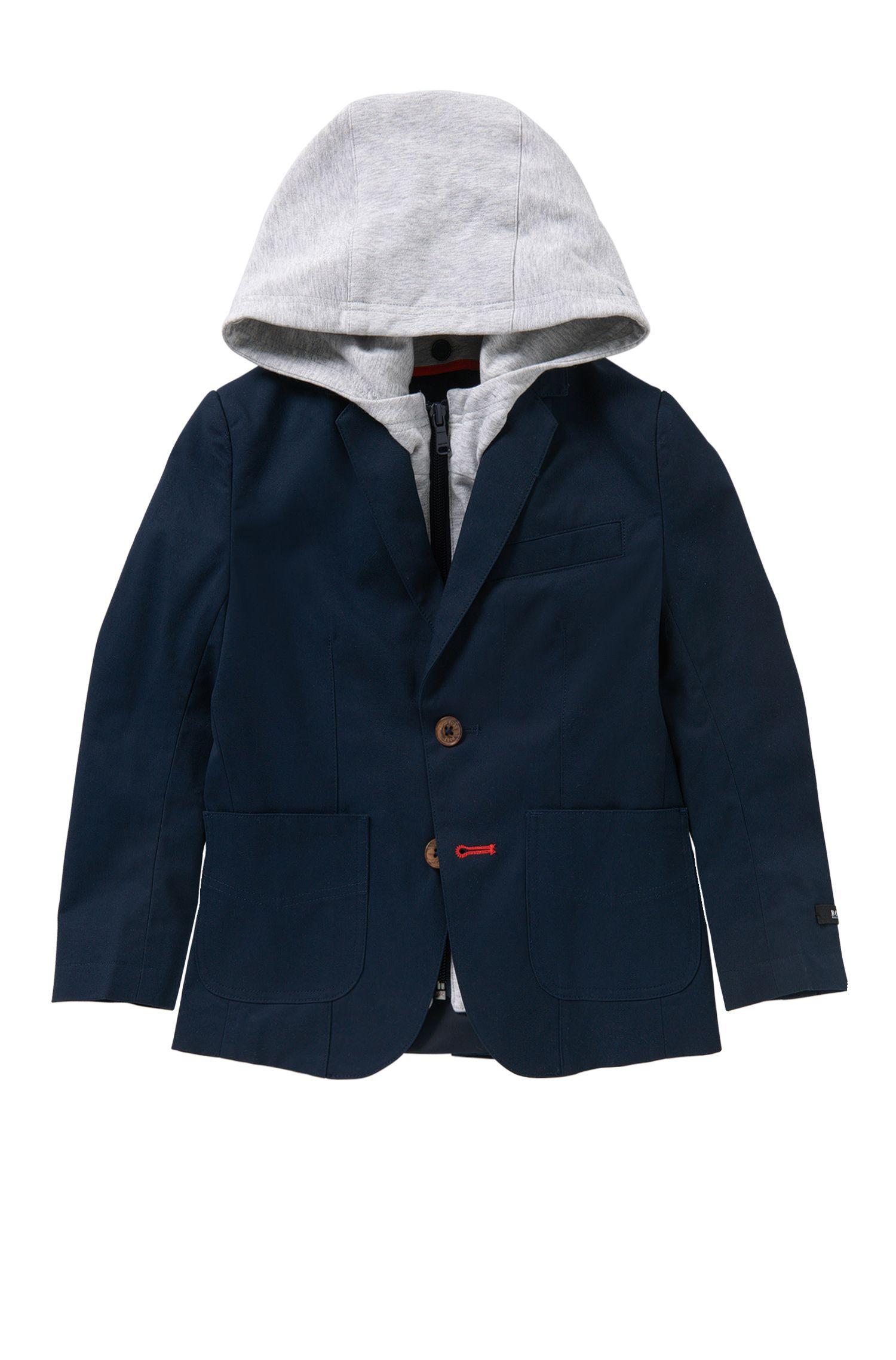 Kids-Sakko aus Baumwolle mit herausnehmbarem Einsatz: 'J26276'