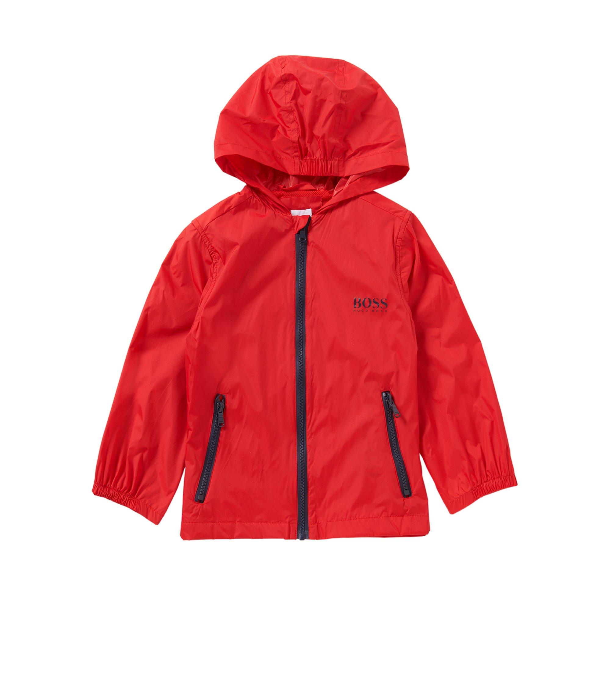 Kids-Jacke aus elastischem Baumwoll-Mix: 'J26280', Rot