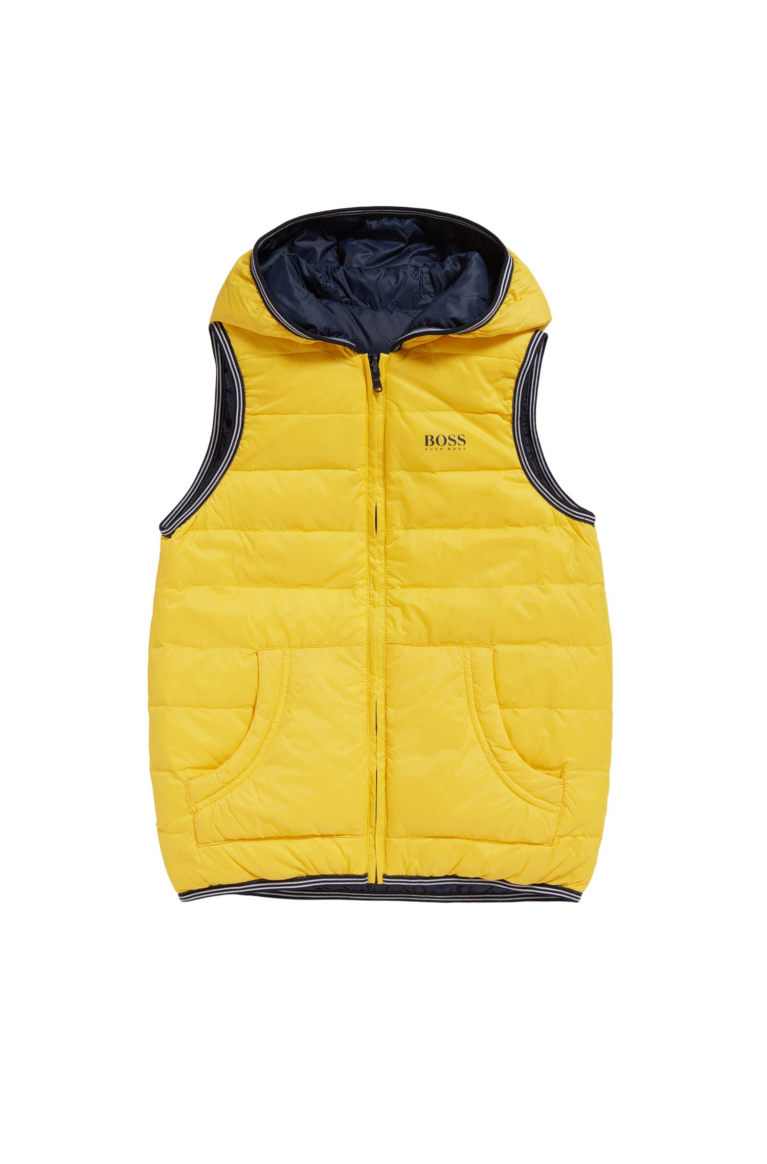 Kids' reversible quilted down gilet: 'J26283'