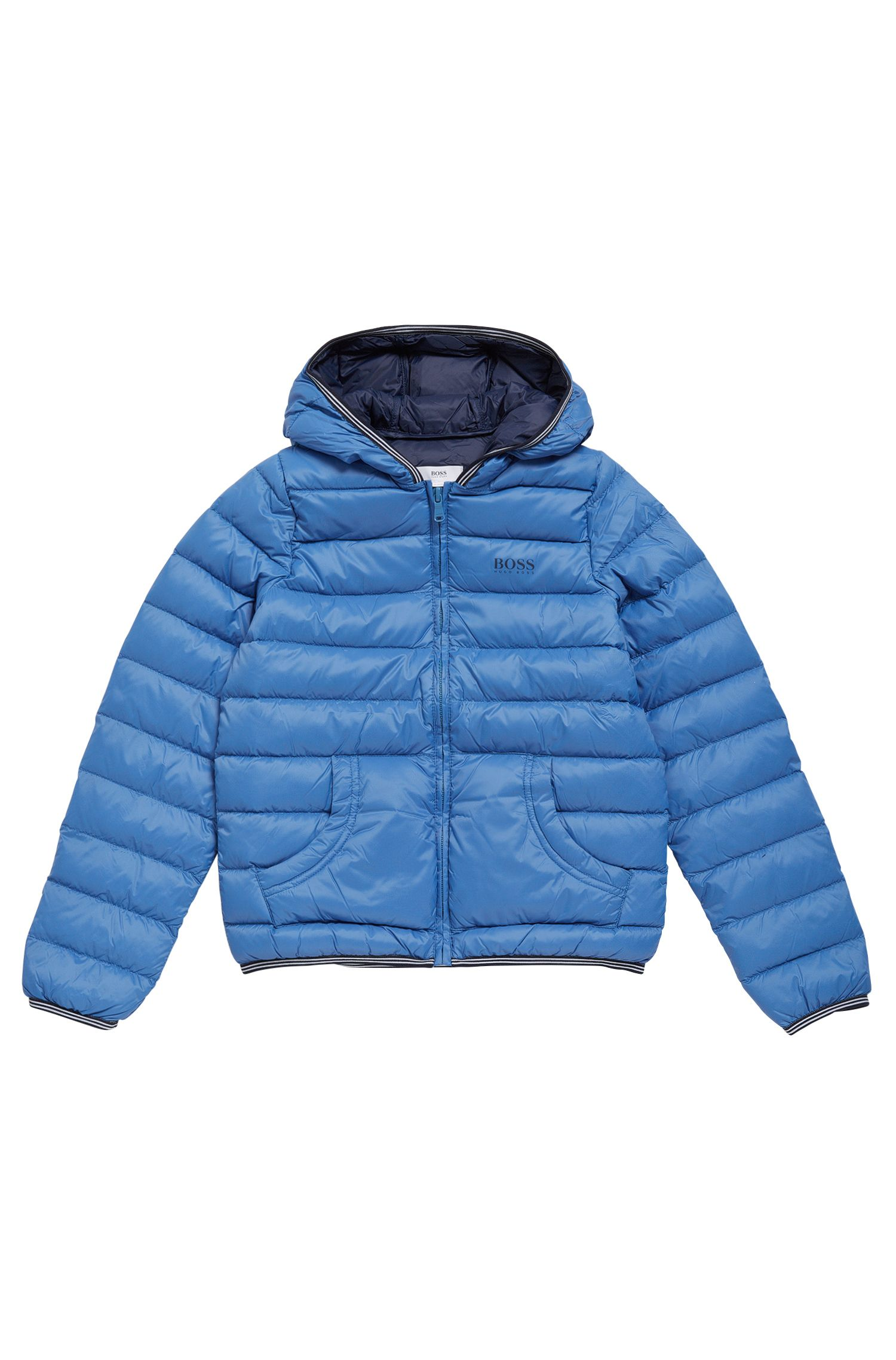 Quilted down jacket for kids in material blend: 'J26284'