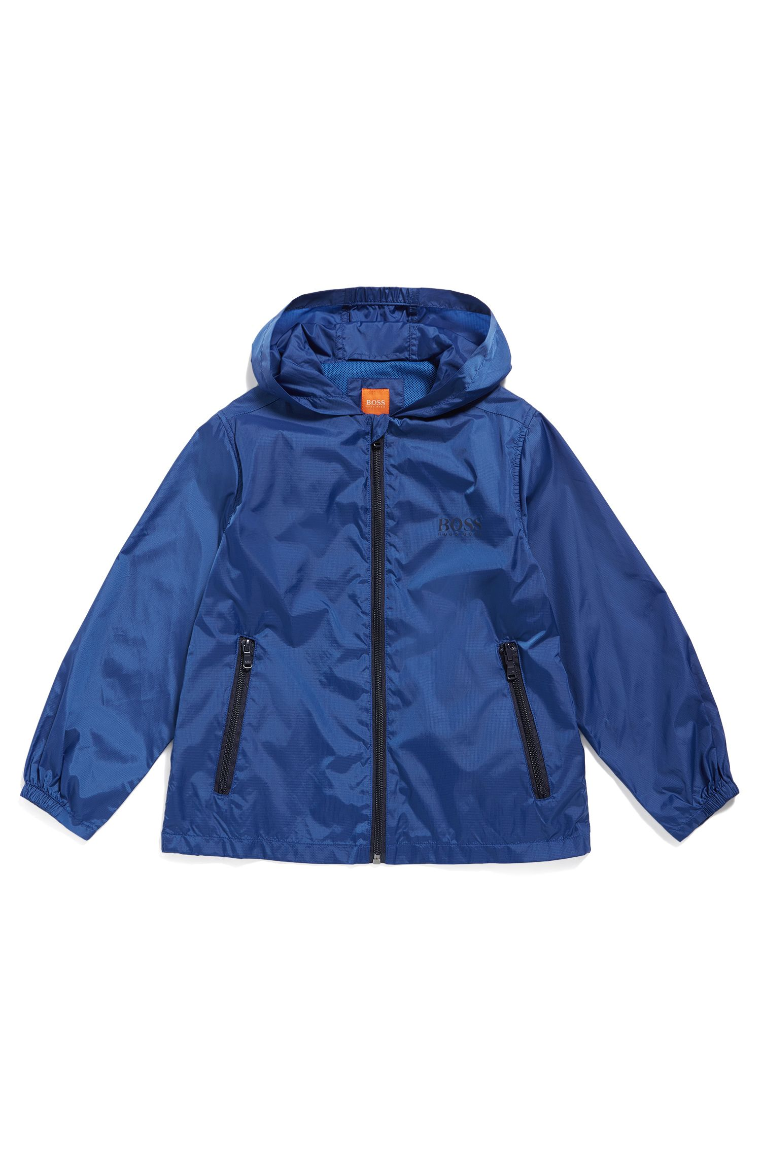 Regular-Fit Kids-Jacke aus reißfestem Material-Mix
